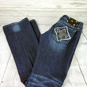 Miss Me Embelished Boot Cut Jeans Sz. 30